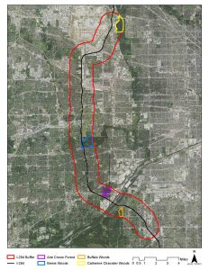 Map of I294