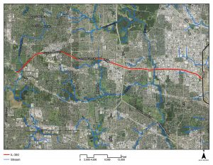 map of I-390